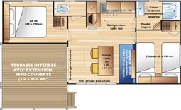 chalet mobilhome